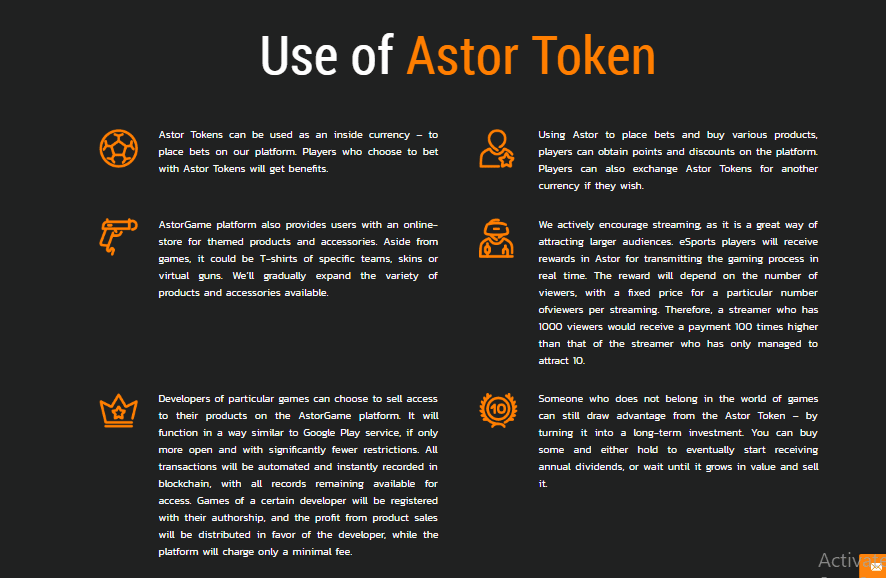 Beneficios Astor