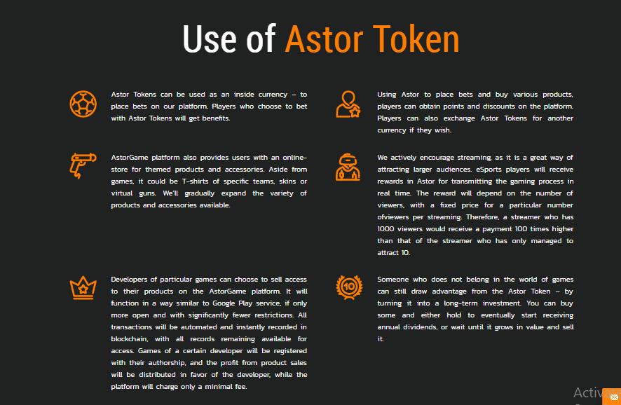 Astor Benefits