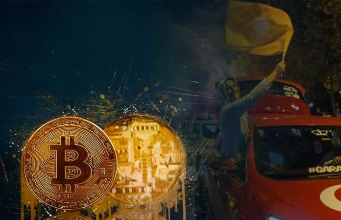 Pagtaas ng Bitcoin sa Turkey