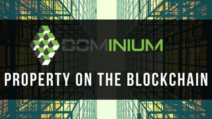 DOMINIUM Property on the blockchain