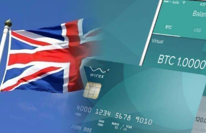 Wirex, ein Cryptocurrency Card Issuer erhält eine E-Money-Lizenz in Großbritannien