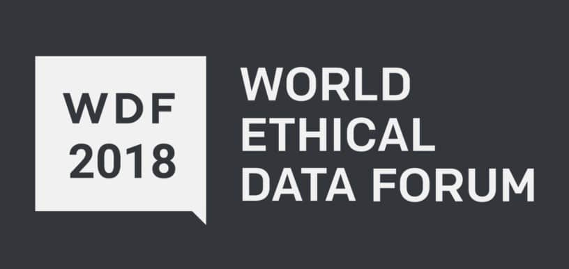 World Ethical Data Forum, 2018