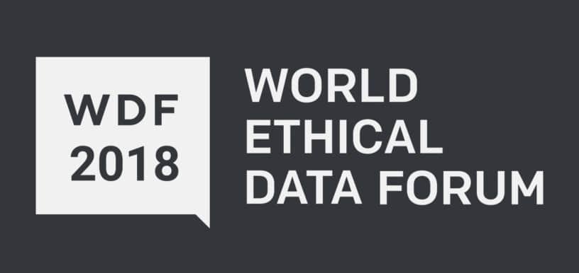 World Ethical Data Forum, 2018