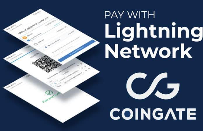 Coingate Is Launching A Bitcoin Lightning Platform For BTC Commerce