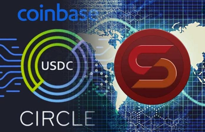 Coinbase Partners With Circle To Offer A Stablecoin For It's Users