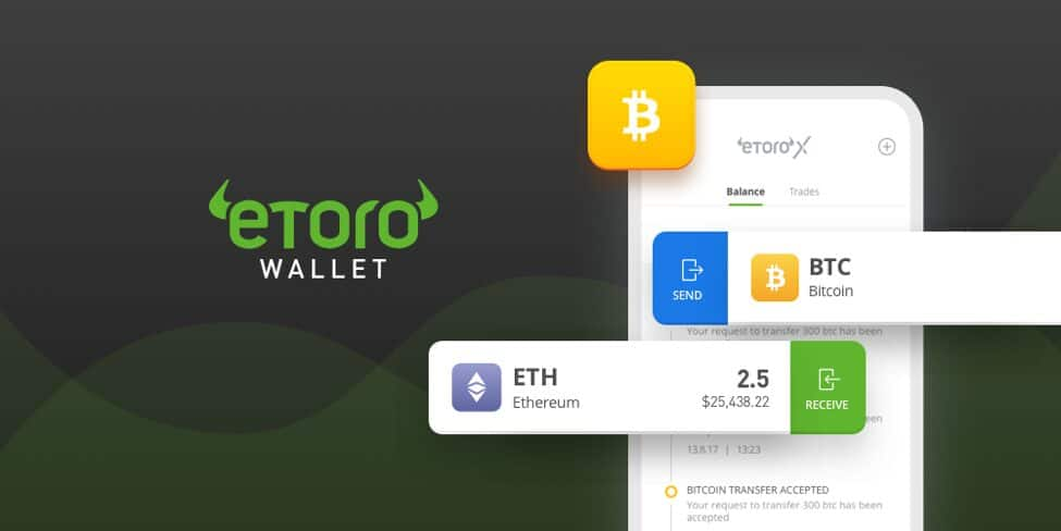 eToro Cryptocurrency Wallet para sa Android at IOS Mga Tagagamit Launched_coinrevolution