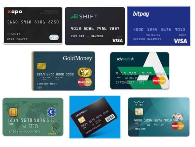 tarjetas de bitcoin