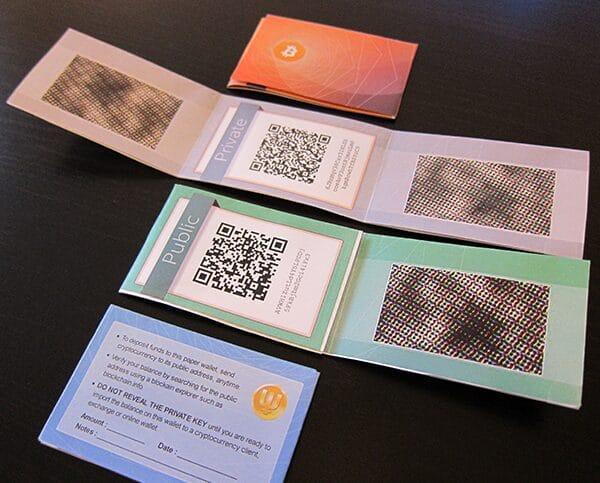 stampante portafoglio di carta bitcoin possiamo usare bitcoin in india