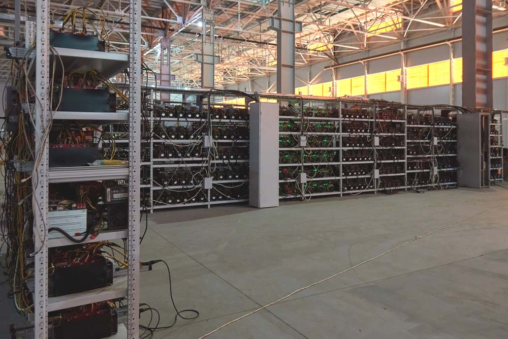 cryptocurrency mining facilities