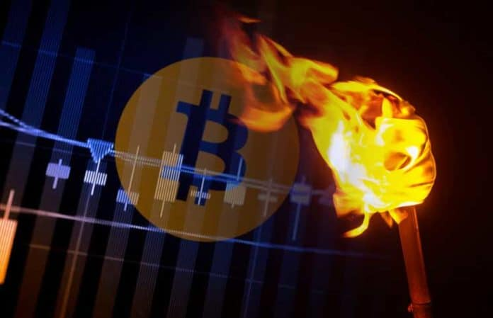 Bitcoin-Blitzfackel