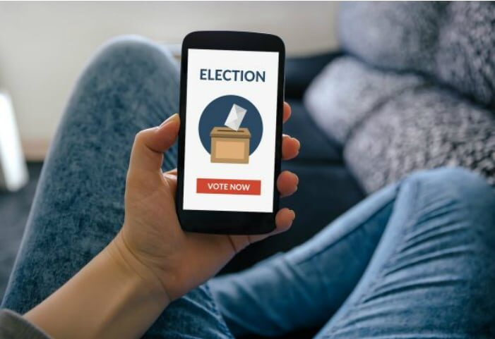 Mobile-based voting