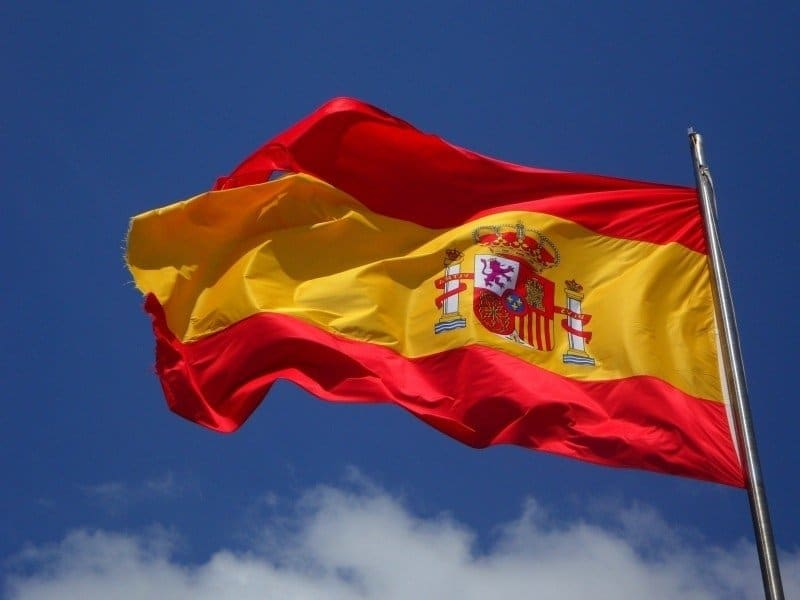 spain-flag-flutter-spanish-cabrera-wind-windy - CoinRevolution com