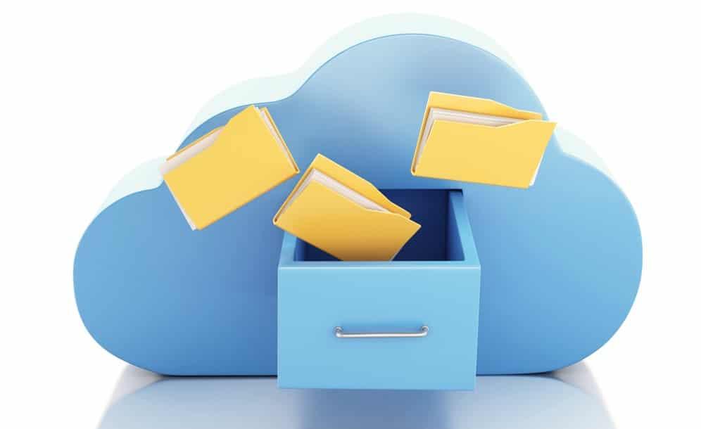 تخزين البيانات