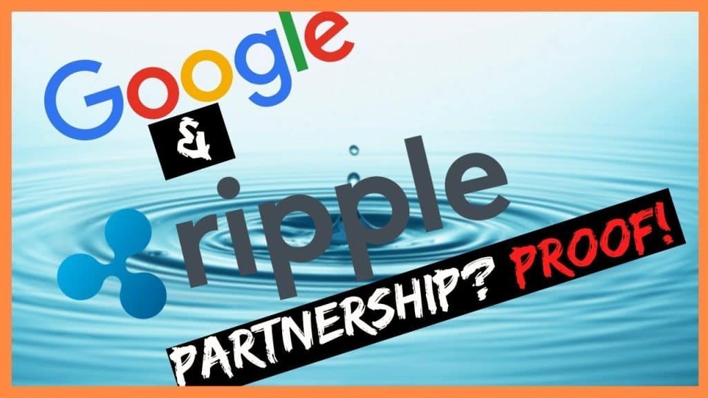 Google at Ripple partnership