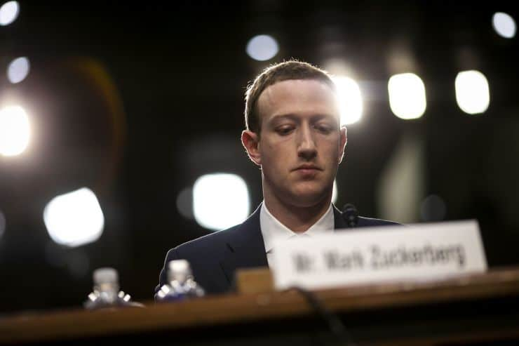Mark Zuckerberg Anhörung
