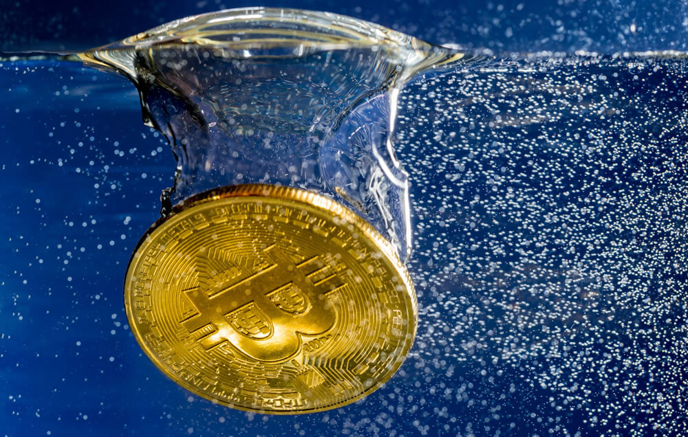 Pengunduran harga Bitcoin