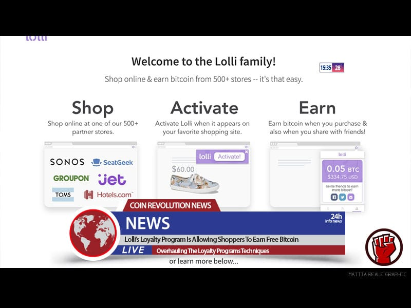 Lolli S Loyalty Program Is Allowing Shoppers To Earn Free Bitcoin -