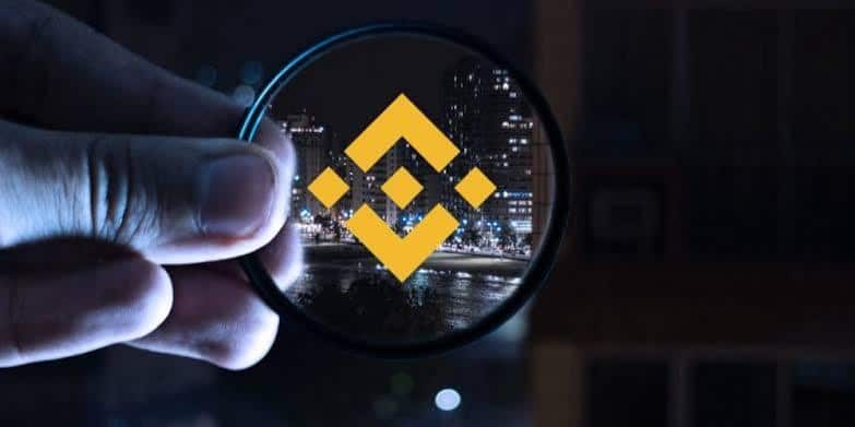 Binance hoek