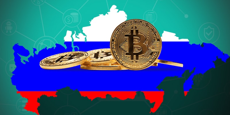 Cryptocurrency in Rusland