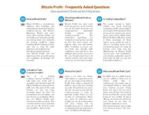Bitcoin Profit - Frequently Asked Questions
