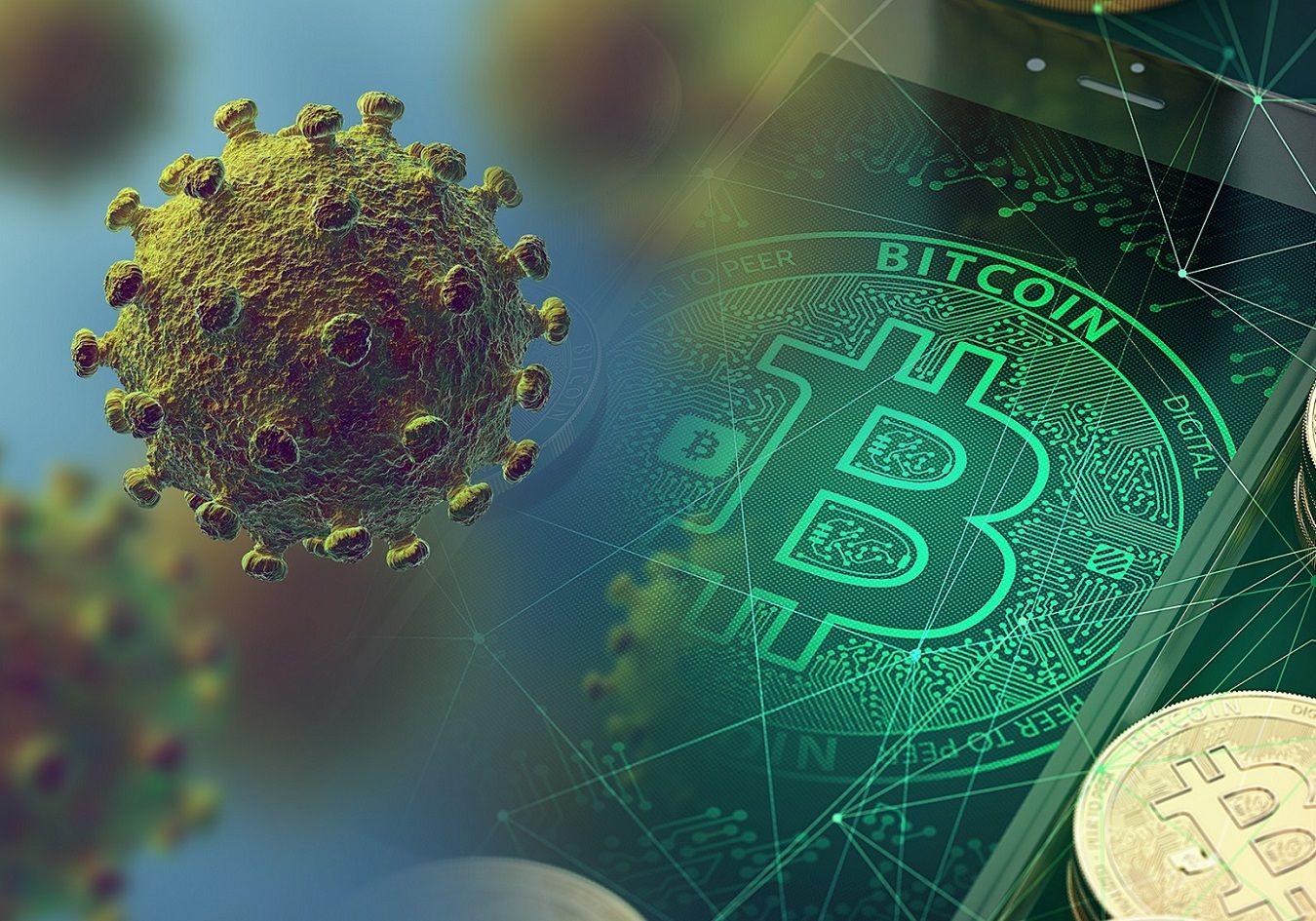 Bitcoin-coronavirus