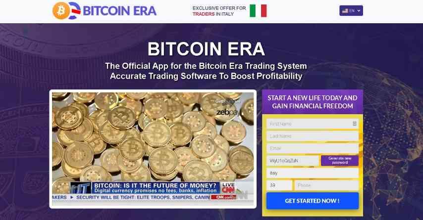 bitcoin tijdperk homepage