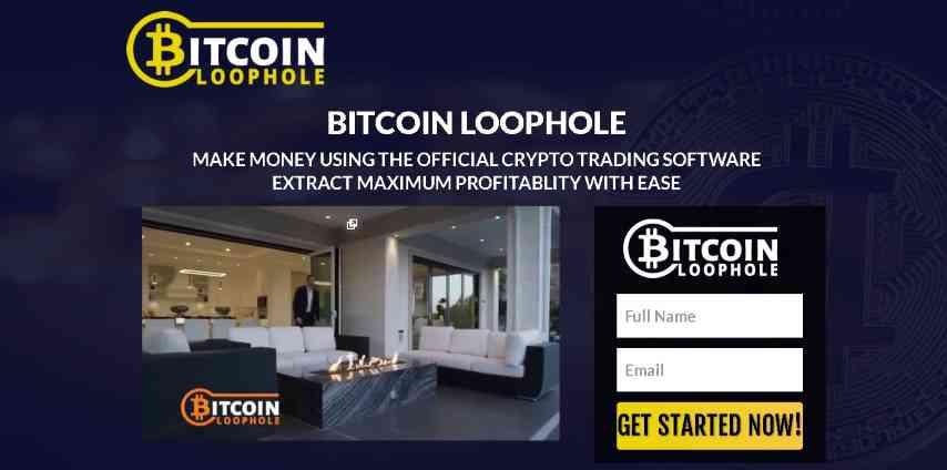 bitcoin loophole homepage