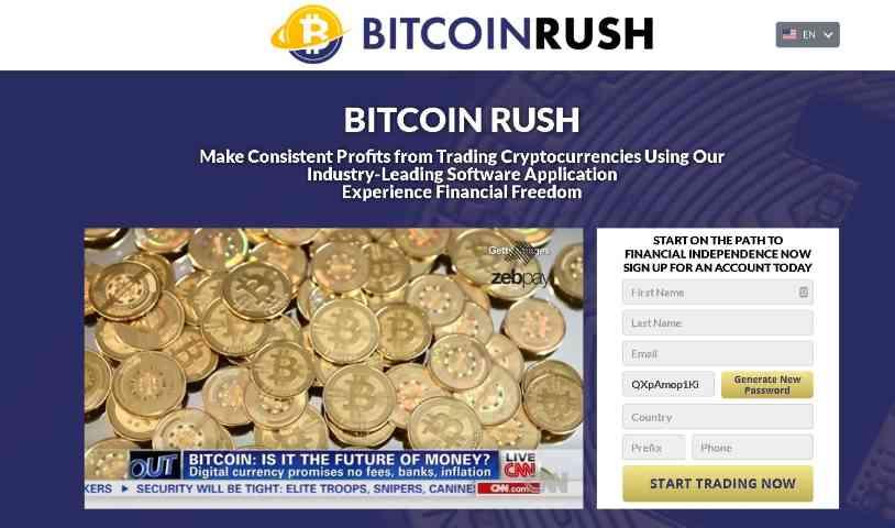 bitcoin rush startpagina