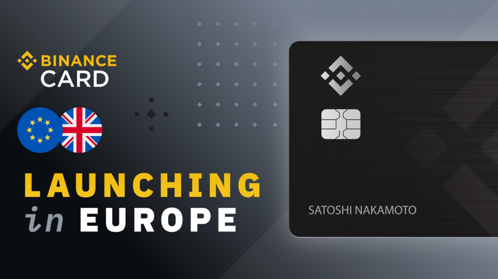 Binance Unveils Crypto Debit Cards