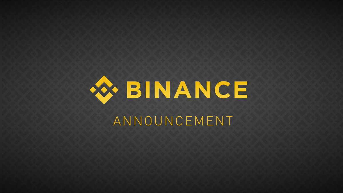 28 Ağustos 2020 Binance hard fork'u