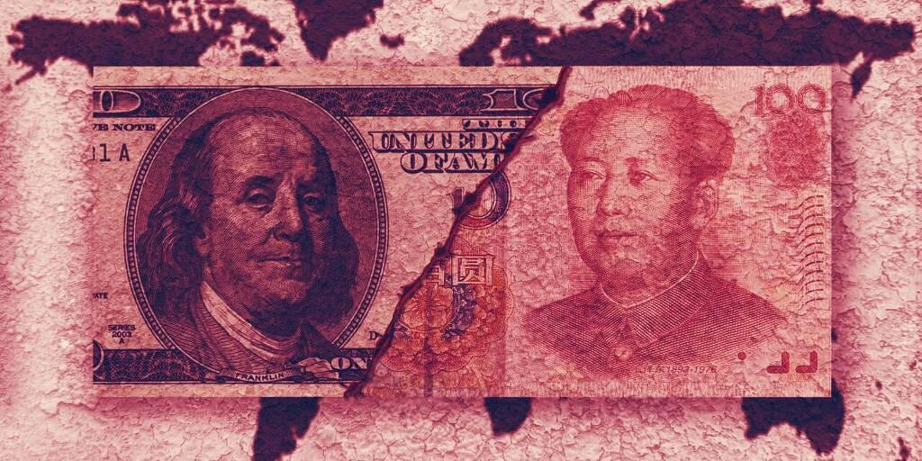 涟漪说美国正在输给中国