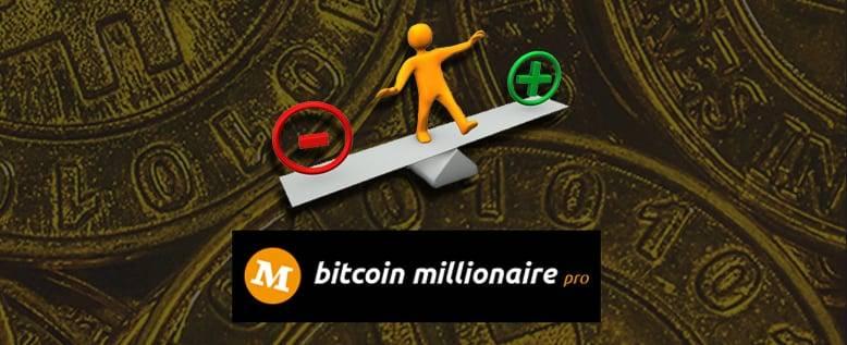 Bitcoin Millionaire Pro - Gibt es Nachteile?