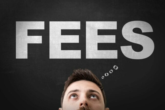 a man thinking about fees