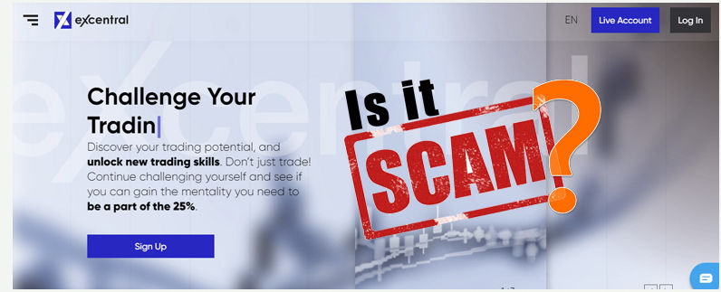 eXcentral Review – Is This Broker a Scam