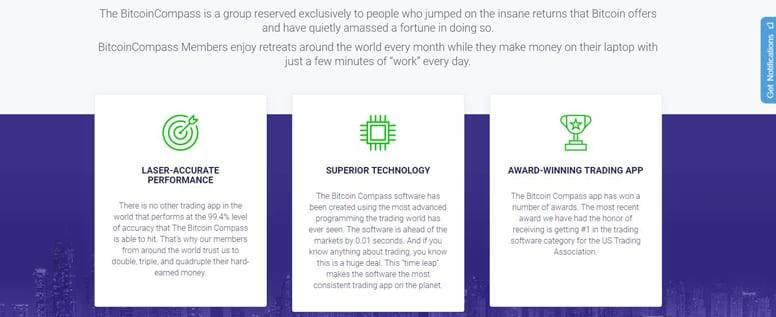 Bitcoin Compass: comience a operar con Bitcoin de manera rentable ahora