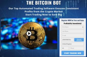 bitcoin bot register page