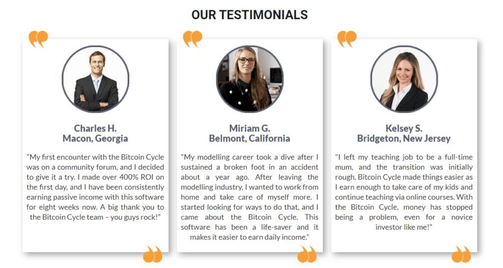 bitcoin cycle testimonials