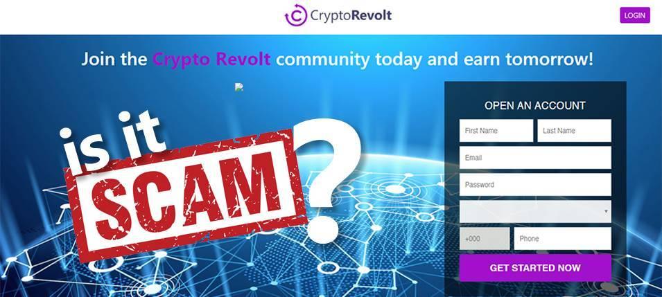 A Crypto Revolt é uma fraude