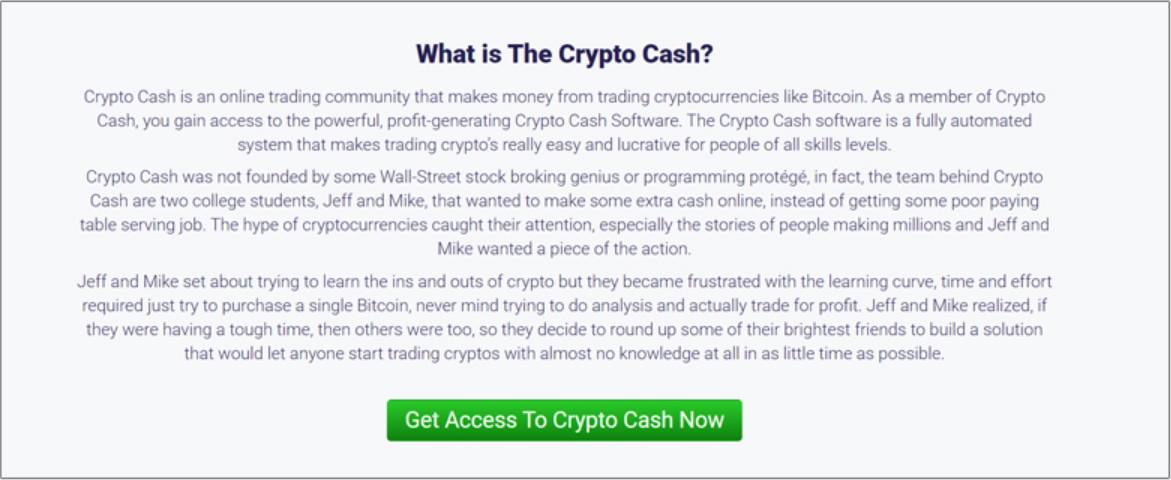 What is Crypto Cash?