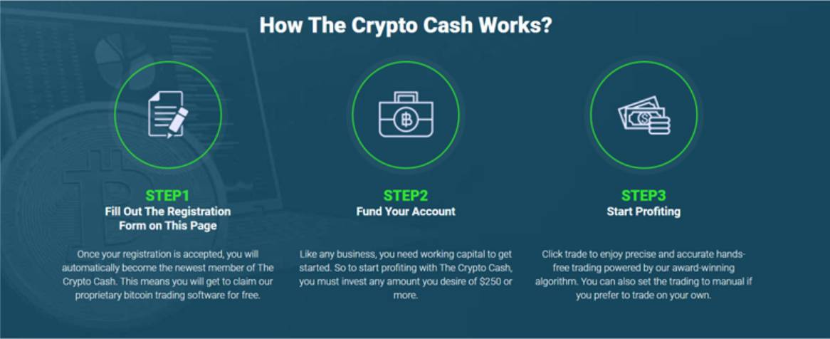 Steps to Register at Crypto Cash