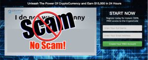 crypto code not a scam
