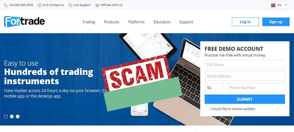 Fortrade a Scam atau Legit Broker