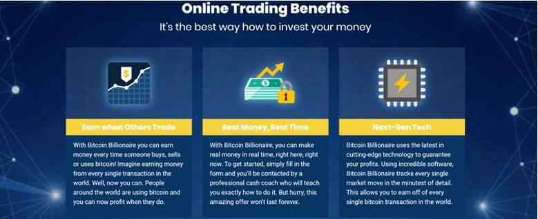 ビットコイン億万長者の取引プラットフォームはどのように機能しますか?