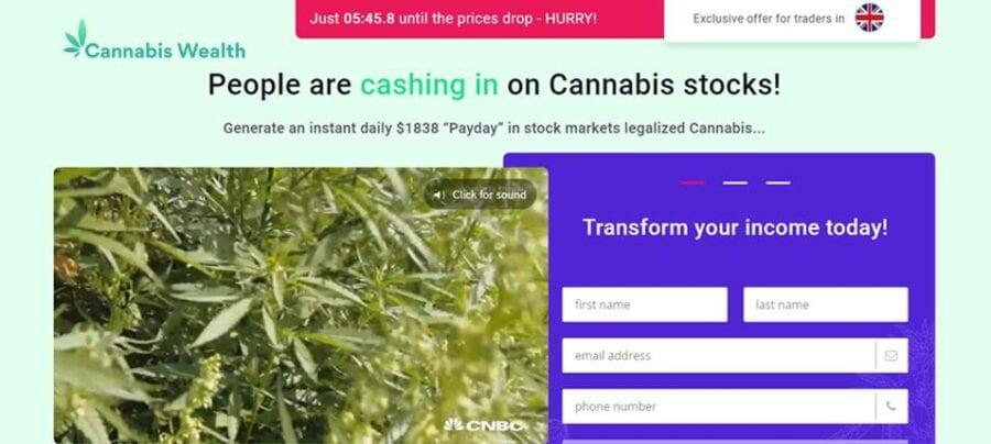 Revisión de la riqueza del cannabis: acceso directo al comercio de acciones de cannabis de forma rentable
