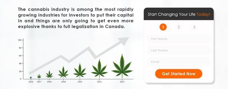The Cannabis Trader Website