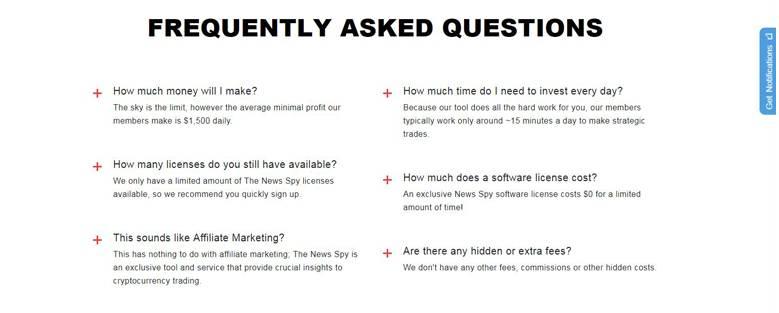 The News Spy FAQs