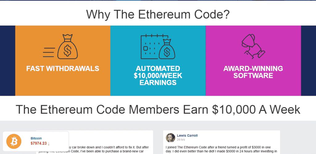 Por qué debería comerciar con criptomonedas con el software Ethereum Code