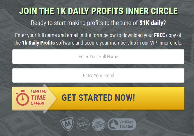 1K DAILY PROFITS