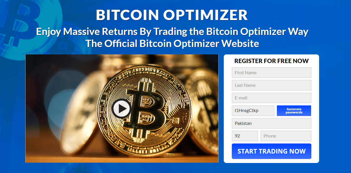 BITCOIN OPTIMIZER REVIEW 2021: IS IT SCAM OR LEGIT?